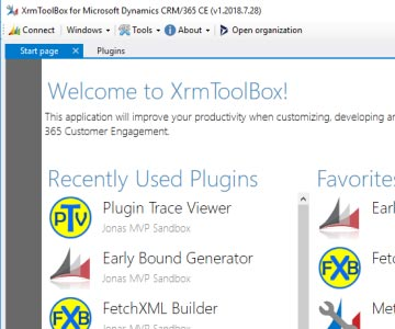 All About XrmToolBox