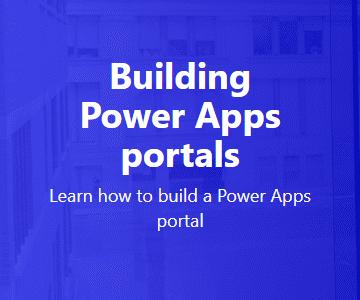 Building Power Apps portals thumbnail image